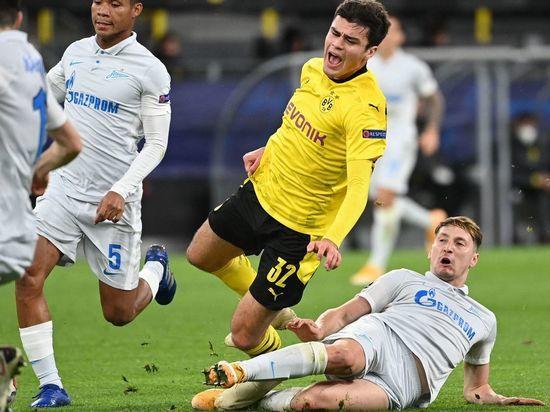 После двух туров в Лиге чемпионов «Зенит» занимает последнюю строчку в группе, не набрав ни одного очка.