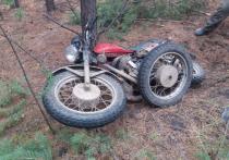 Полицейские в Улетовском районе задержали местного жителя, который угнал и спрятал мотоцикл в лесу, чтобы продать его на запчасти