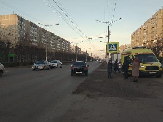 Водитель «Гранты» сбил школьника на переходе в Чебоксарах