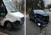 В Йошкар-Оле ищут очевидцев ДТП с участием маршрутки и иномарки
