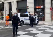 В Ницце неизвестный напал на людей возле церкви Нотр Дам, в результате погибли двое человек