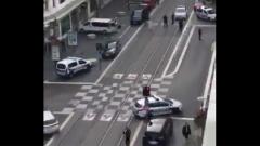 Появилось видео первых минут нападения террориста на прихожан в Ницце