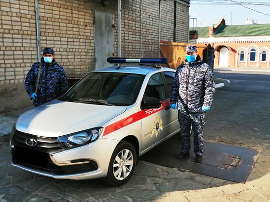 В Воронежской области сотрудники Росгвардии задержали похитителя