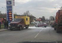 ДТП с пожаром произошло на улице Галичской в Костроме