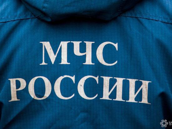 В Кемерове упавшую 140-килограммовую пожилую женщину поднимали сотрудники МЧС