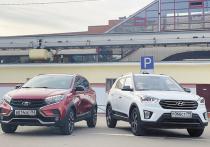 LADA XRAY Cross и Hyundai Creta хорошо известны в России