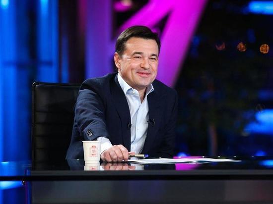 Губернатор Московской области Андрей Воробьев привился от коронавируса