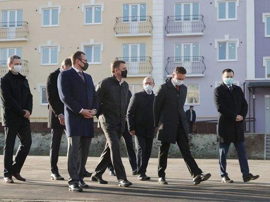 Губернатор Дюмин проинспектировал микрорайон «Северная Мыза» в Туле