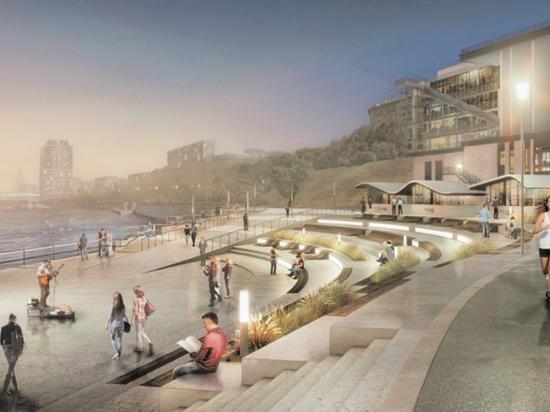 Территория от театра «Мастерская Петра Фоменко» до жилого комплекса будет благоустроена и приспособлена для прогулок