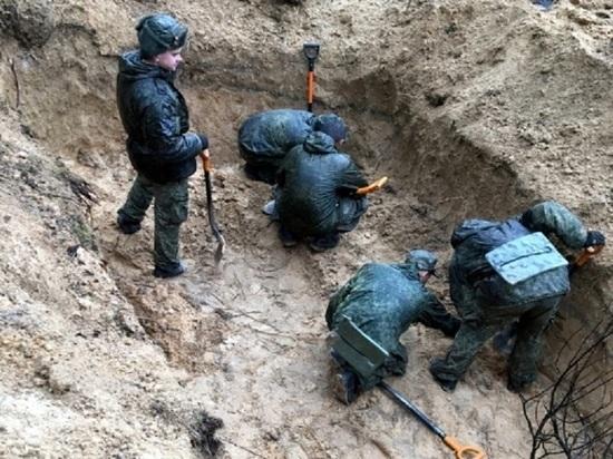 Стало известно о жутких находках в бывшем концлагере под Псковом