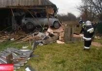 В Ивановской области скончался водитель, врезавшийся в дом