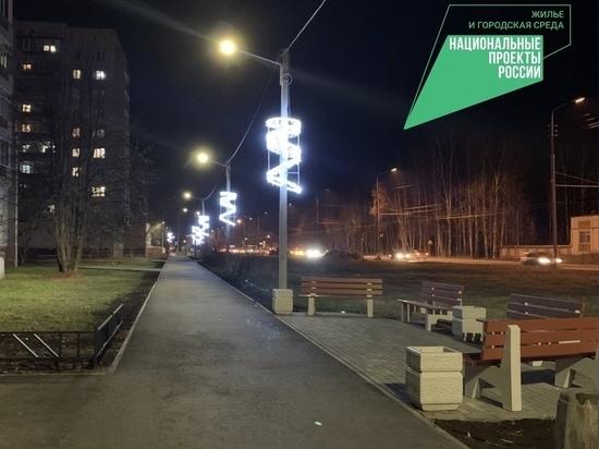 На улице Дружбы в Йошкар-Оле реконструированы тротуары