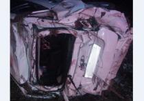 Пьяный водитель в Удмуртии перевернулся с трассы и врезался в дерево