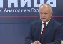Игорь Додон сыграл решающую роль в падении режима Плахотнюка