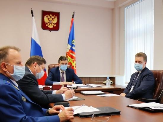 Губернатор Ивановской области обсудил вопросы национальной безопасности