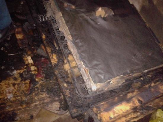 В Ивановской области загоревшийся матрац тушили 11 человек