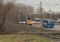 В Кемерово ДТП перегородило движение трамваям