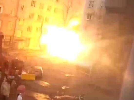 Пожар в ковидной больнице в Челябинске ликвидирован