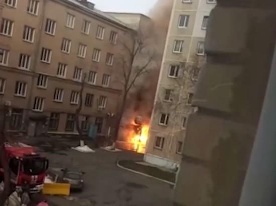 МЧС: в больнице Челябинска произошел не взрыв, а выброс пламени