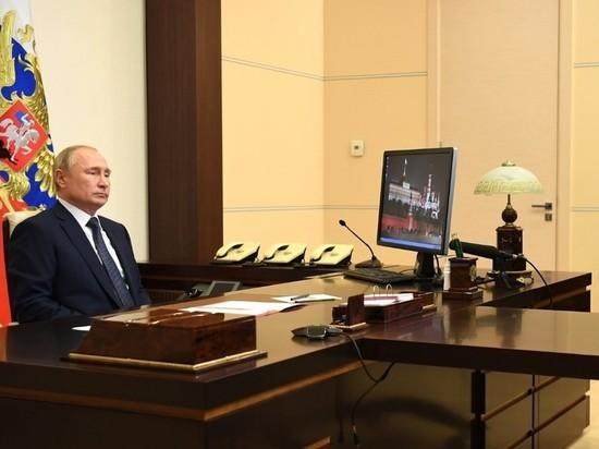 Президент Владимир Путин внес в парламент законопроект о формировании Совета Федерации