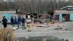 Последствия взрыва газа в гараже в Мытищах сняли на видео