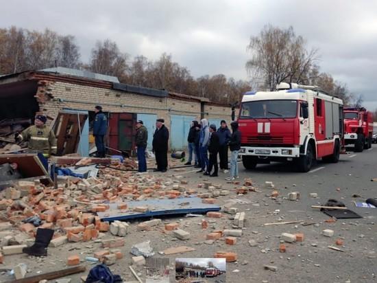 Прокуратура подтвердила смерть человека при взрыве в гаражах в Мытищах