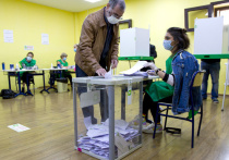 В Грузии прошли парламентские выборы