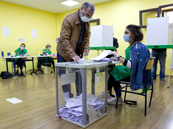 Партия Михо на выборах в Грузии оказалась в аутсайдерах