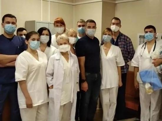 В тульской горбольнице №10 открылся стационар для больных коронавирусом