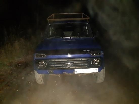 Ночью недалеко от Твери остановили пьяного водителя