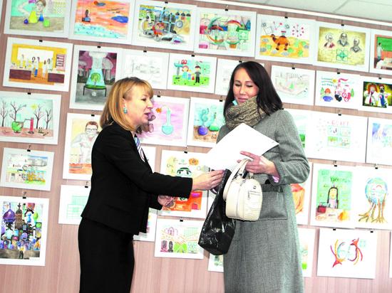 На «Химпроме» наградили победителей конкурса детского рисунка