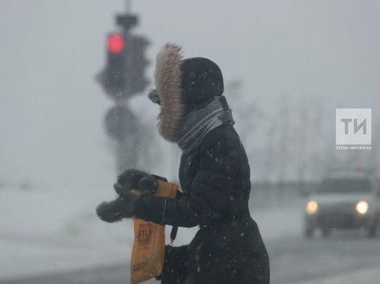 В длинные выходные татарстанцам обещают сильный ветер и мокрый снег