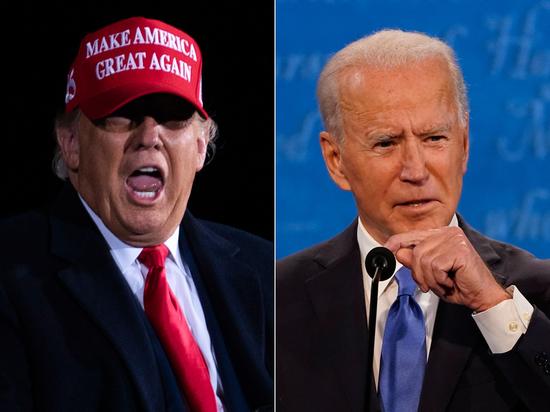 Дональд Трамп и Джо Байден борются за власть
