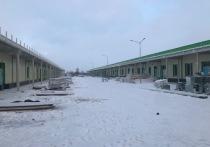 В строящемся ковид-госпитале Нового Уренгоя первым откроют отделение реанимации