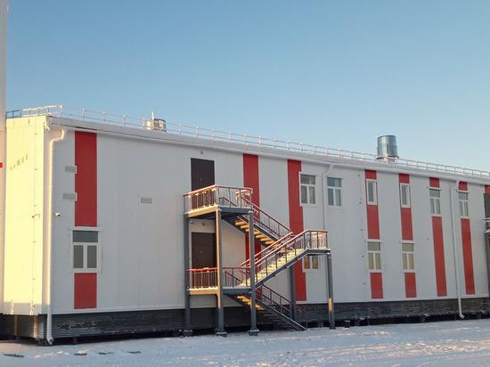 Современное пожарное депо построили в Тазовском районе