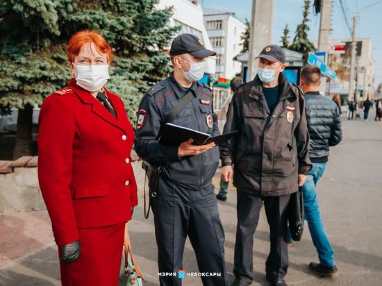 В Чебоксарах составили акты на 142 безмасочных пассажира