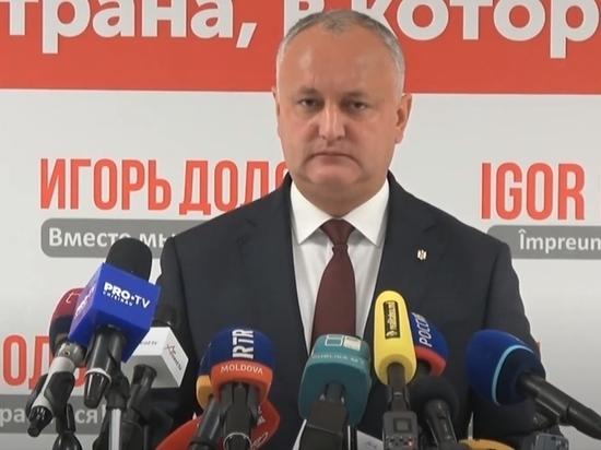 Додон: Санду, по примеру ЕС,  «закроет» Молдову на карантин