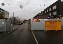 Ремонт моста на ул. Кирова в Петрозаводске снова начался