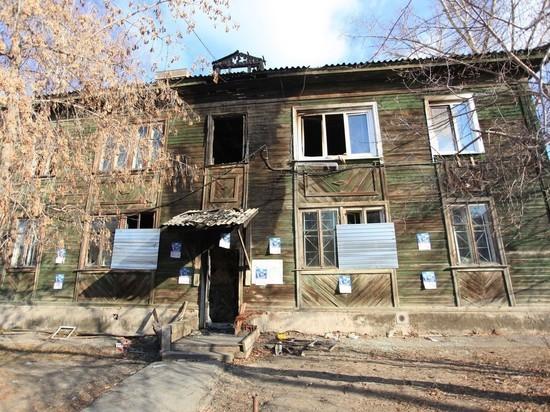 В Иркутске погорельцы живут в сгоревшей многоэтажке