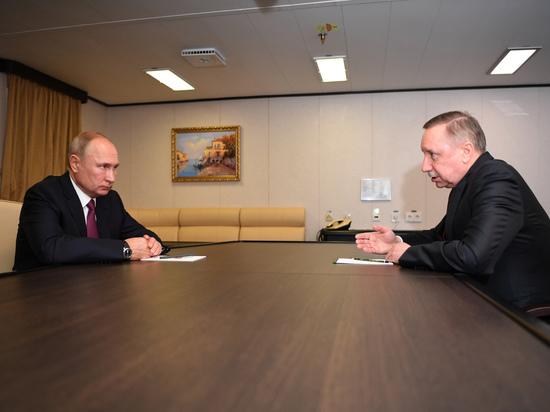 При Путине Беглов отрекся от своих слов о критической ситуации в городе