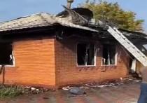 СМИ сообщают о поджоге мечети в Ингушетии