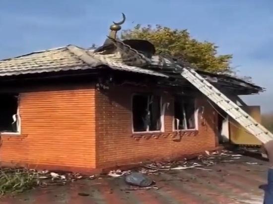 В Ингушетии пообещали миллион рублей за информацию о поджоге мечети
