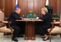 Путин наградил Скворцову орденом