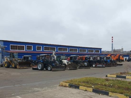 Замгубернатора региона проверил готовность дорожной техники к зиме