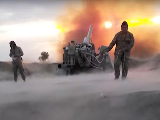Сирийские наемники идут в атаку «под кайфом»