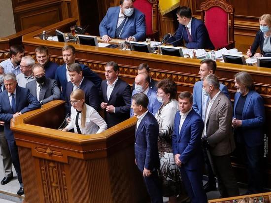 Тимошенко рассказала о существовании стратегии Киева по уничтожению украинцев