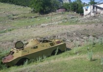 В Баку заявили об уничтожении четырех танков ВС Армении