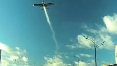 Самолет погибшего ведущего Колтового незадолго до падения попал на видео
