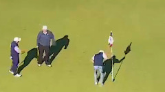 Трамп играл в гольф, а Байдена объявили президентом