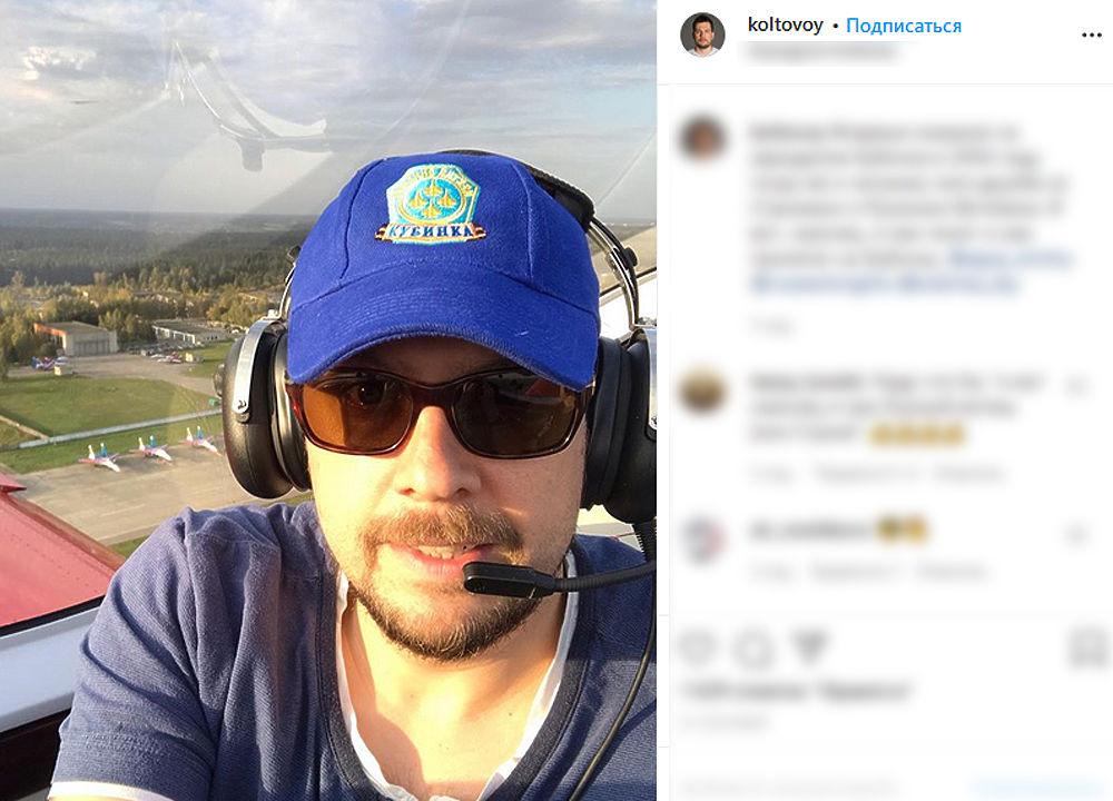 Телеведущий НТВ Колтовой погиб в авиакатастрофе в Подмосковье: жил экстримом